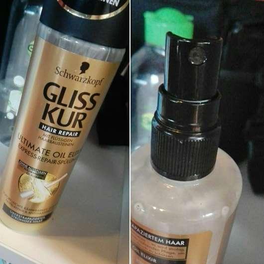 Schwarzkopf GLISS KUR Hair Repair Ultimate Oil Elixir Express-Repair-Spülung