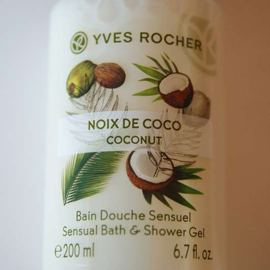 Yves Rocher Plaisirs Nature Duschbad Kokosnuss