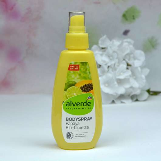 alverde Bodyspray Papaya Bio-Limette (LE)