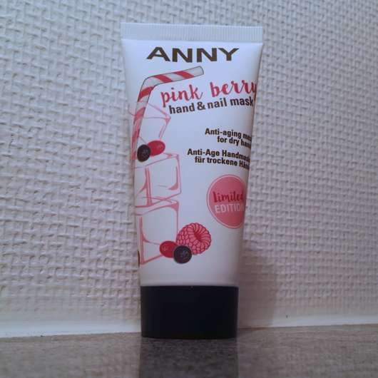 ANNY pink berry hand & nail mask (LE)