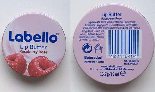 Labello Lip Butter Rasberry Rosé