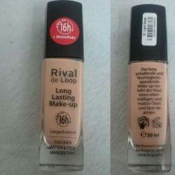 Produktbild zu Rival de Loop Long Lasting Make-Up 16h – Farbe: 01 Light Beige