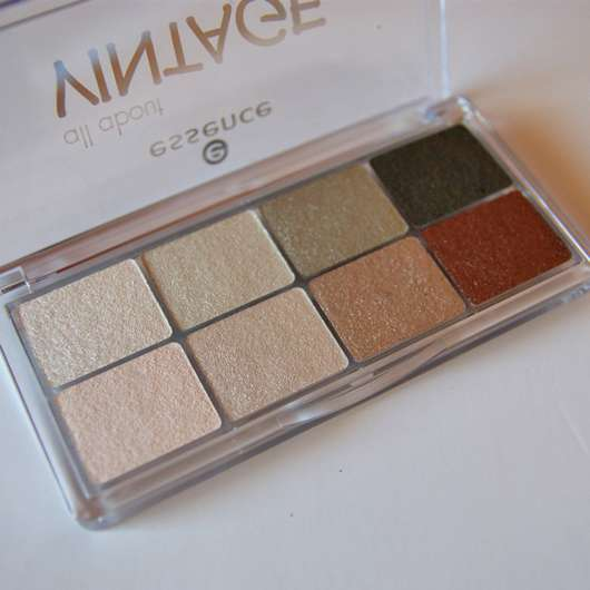 essence all about vintage eyeshadow palette