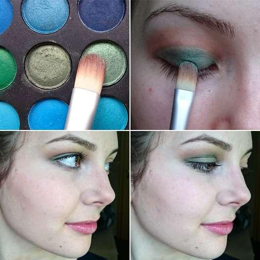 Besonders schön bei grünen oder braunen Augen
