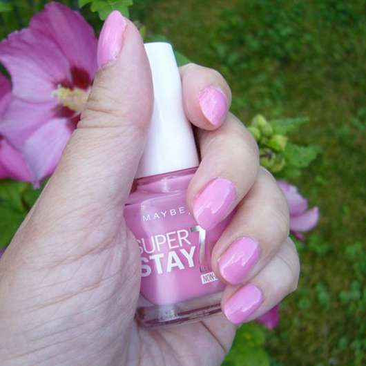 Maybelline Superstay Forever Strong 7 Days Nagellack, Farbe: 120 Flushed Pink