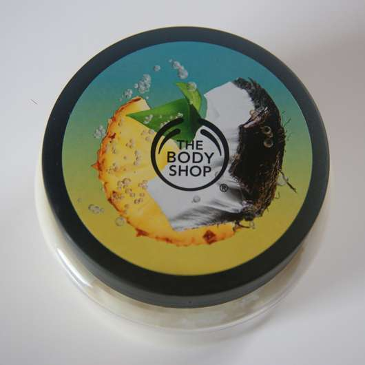 The Body Shop Piñita Colada Exfoliating Cream Body Scrub