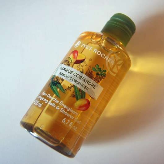 Yves Rocher Mango Coriander Energizing Bath & Shower Gel