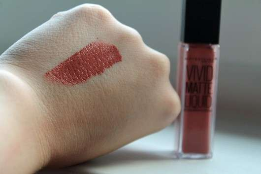 Maybelline Color Sensational Vivid Matte Liquid Lip Color, Farbe: 50 Nude Thrill