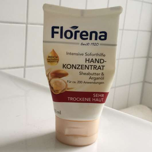 <strong>Florena</strong> Hand-Konzentrat mit Sheabutter & Bio-Arganöl