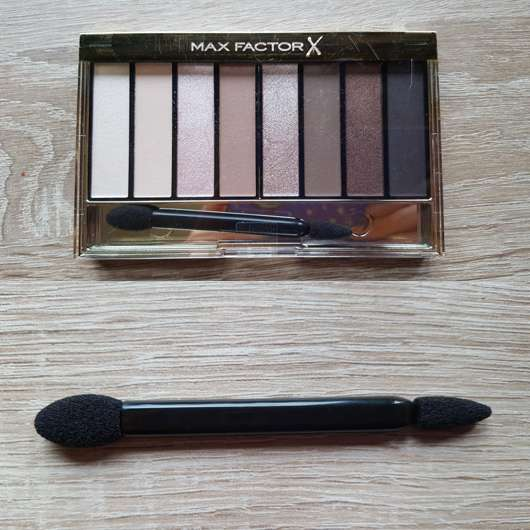 <strong>Max Factor</strong> Masterpiece Nude Palette – Farbe: 01 Cappuccino Nudes (LE)