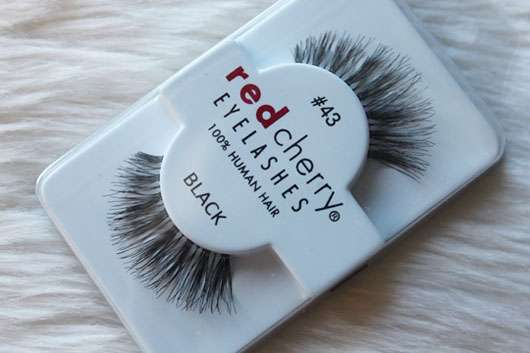 Red Cherry Eyelashes Falsche Wimpern Nr. 43 Stevi – Echthaar