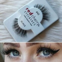Produktbild zu Red Cherry Eyelashes Falsche Wimpern Nr. 43 Stevi – Echthaar