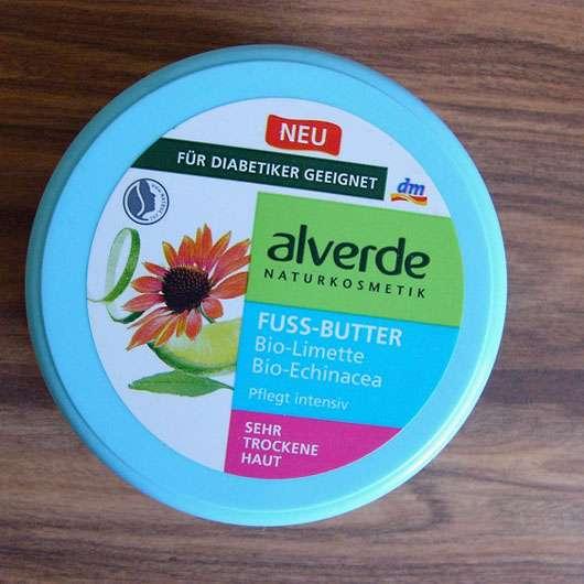 alverde Fussbutter Bio-Limette Bio-Echinacea