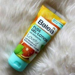 Produktbild zu Balea Fuss Gel-Lotion mit Kühlperlen Lovely