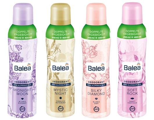 Erfolgsmarke Balea bringt die nächste Deo-Generation auf den Markt