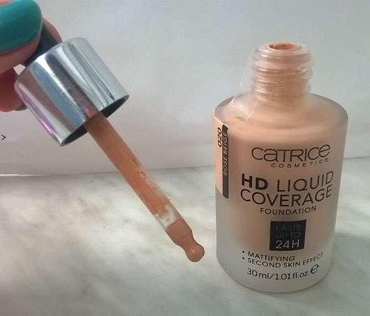 Catrice HD Liquid Coverage Foundation, Farbe: 020 Rose Beige