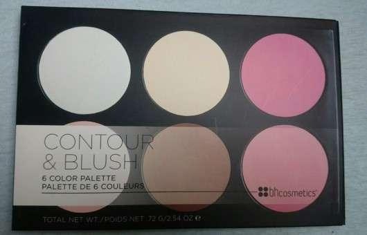 bhcosmetics Contour & Blush 6 Color Palette