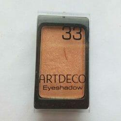 Produktbild zu ARTDECO Eyeshadow – Farbe: 33 natural orange (Pearl)