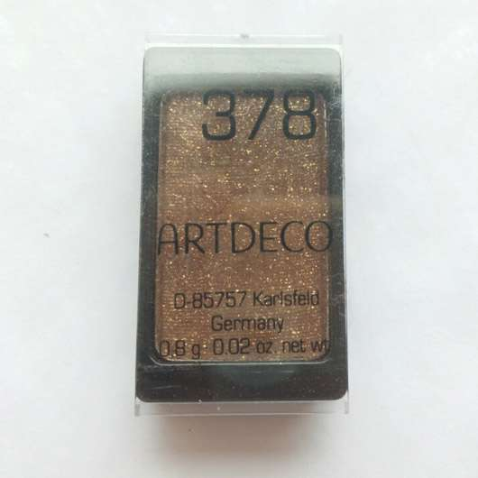 Artdeco Eyeshadow, Farbe: 378 glam golden chocolate
