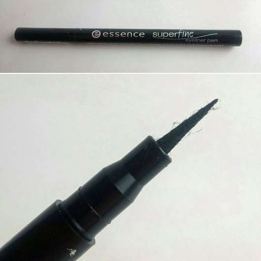 essence superfine eyeliner pen, Farbe: 01 deep black