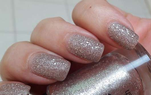 just cosmetics sparkling sand nail polish, Farbe: 010 bluff