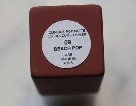 Clinique Pop Matte Lip Colour + Primer, Farbe: 09 Beach Pop