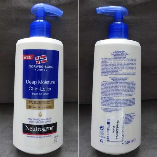 Neutrogena Norwegische Formel Deep Moisture Öl-in-Lotion