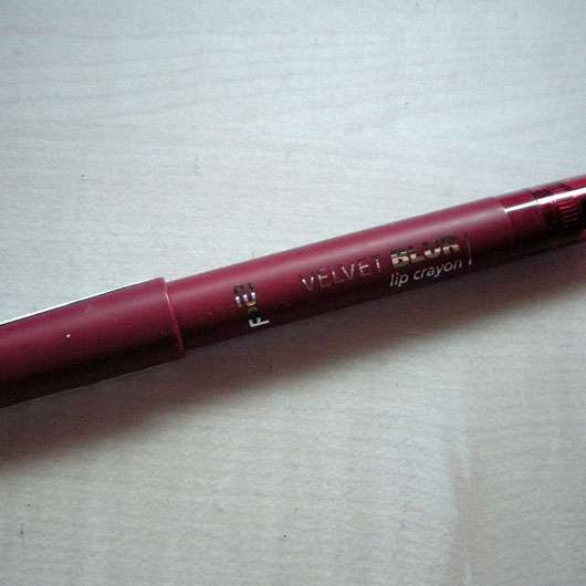 p2 velvet blur lip crayon, Farbe: 030 near + far