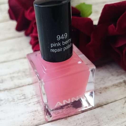 ANNY pink berry repair polish