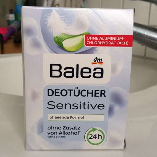 Balea Sensitive Deotücher