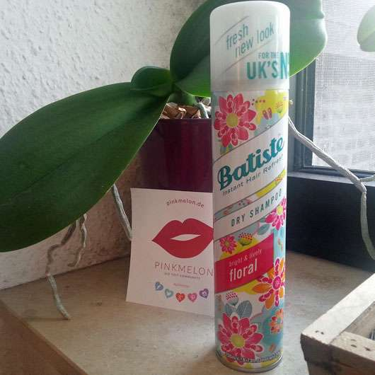 Batiste Bright & Lively Floral Dry Shampoo