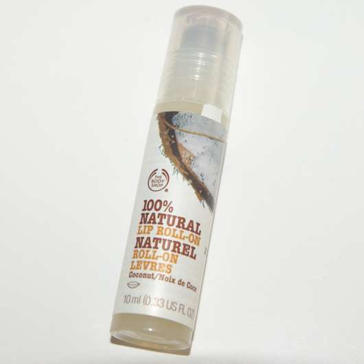 The Body Shop 100% Natural Lip Roll-On Coconut