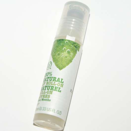 The Body Shop 100% Natural Lip Roll-On Minze