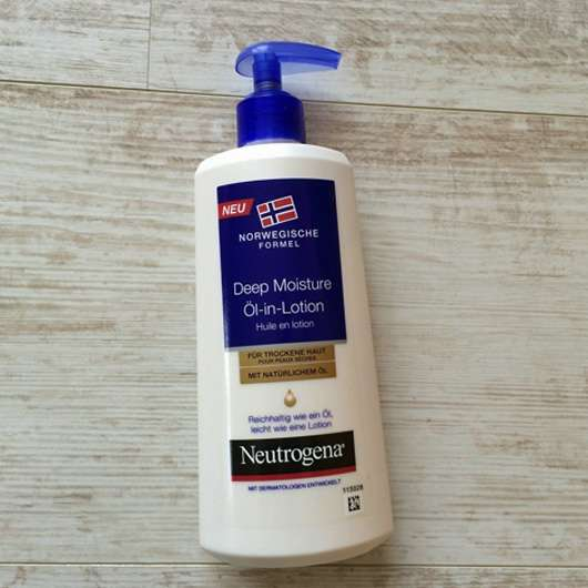 Neutrogena Norwegische Formel Deep Moisture Öl-in-Lotion