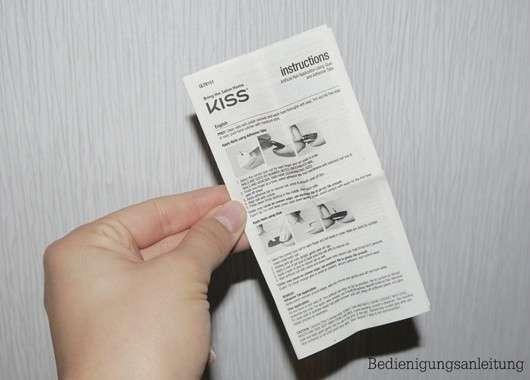 KISS Gel Fantasy Nail Kit, Farbe: 60671 Ab Fab (kurze Länge)