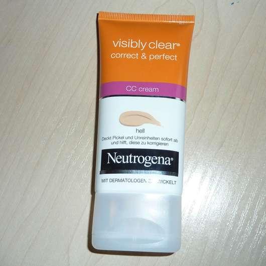Neutrogena Visibly Clear correct & perfect CC cream, Farbe: Hell