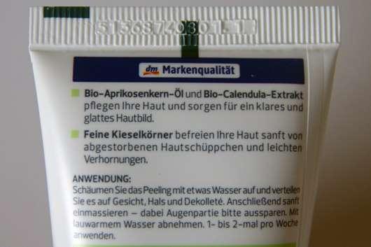alverde Peeling Bio-Aprikose Bio-Calendula