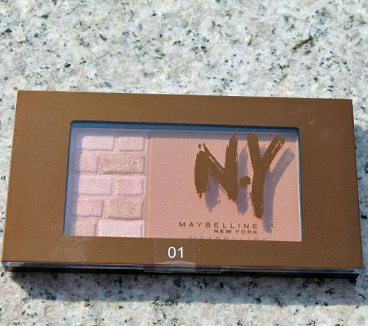 Maybelline Bricks Bronzer, Farbe: 01 Blondes (LE)