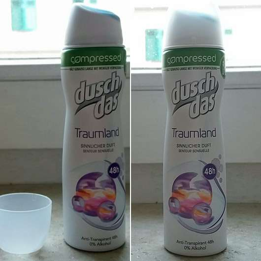 duschdas Traumland compressed Anti-Transpirant Spray