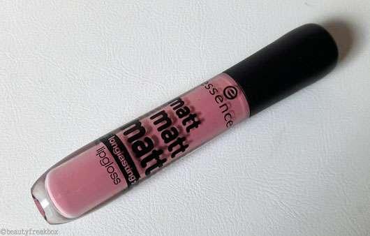 essence matt matt matt longlasting lipgloss, Farbe: 01 la vie est belle