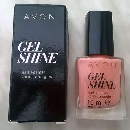 <strong>AVON</strong> Gel Shine Nagellack – Farbe: Dazzle Pink
