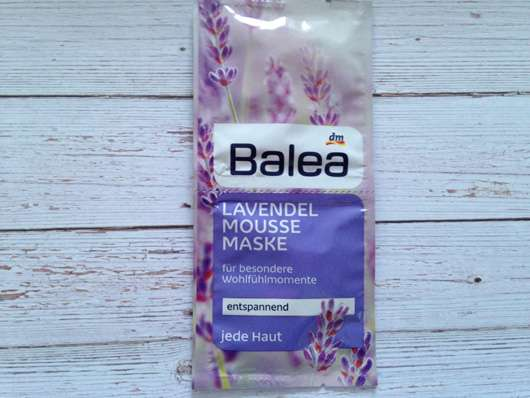 Balea Lavendel Mousse Maske