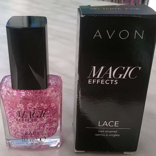 <strong>AVON</strong> Magic Effects Lace Nail Enamel - Farbe: Delicate Pink