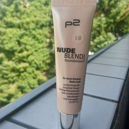 p2 nude blend foundation, Farbe: 010 ivory