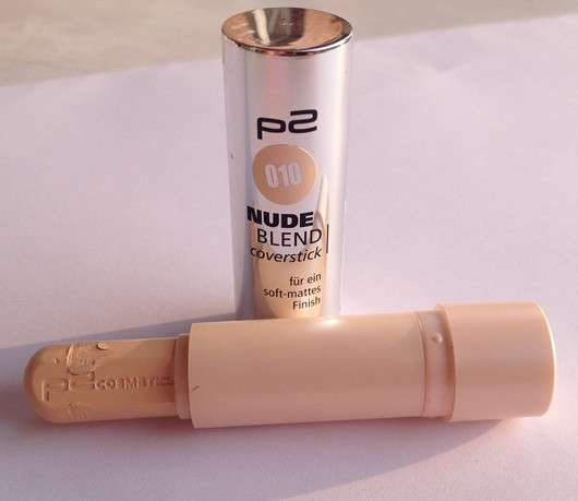 p2 nude blend coverstick, Farbe: 010 porcelain