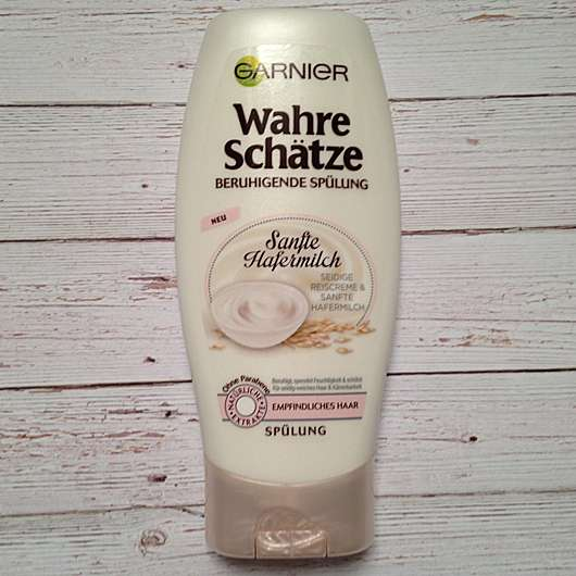 Garnier Wahre Schätze Sanfte Hafermilch Beruhigende Spülung