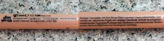 Test - Concealer / Abdeckstift - trend IT UP Sheer Nude