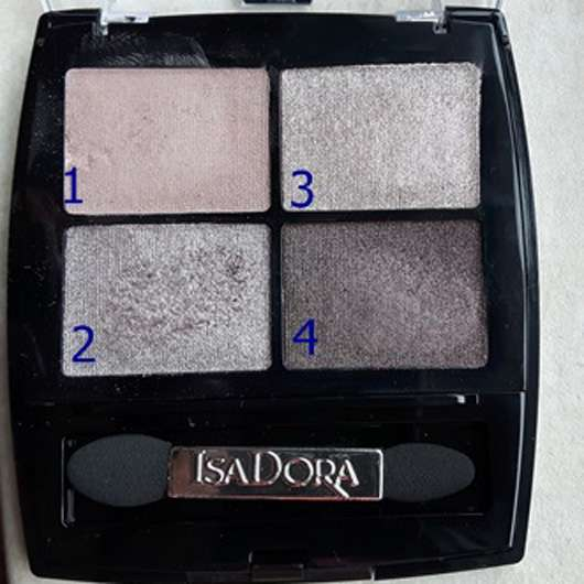 IsaDora Eye Shadow Quartet, Farbe: 10 Soft Suede (LE)