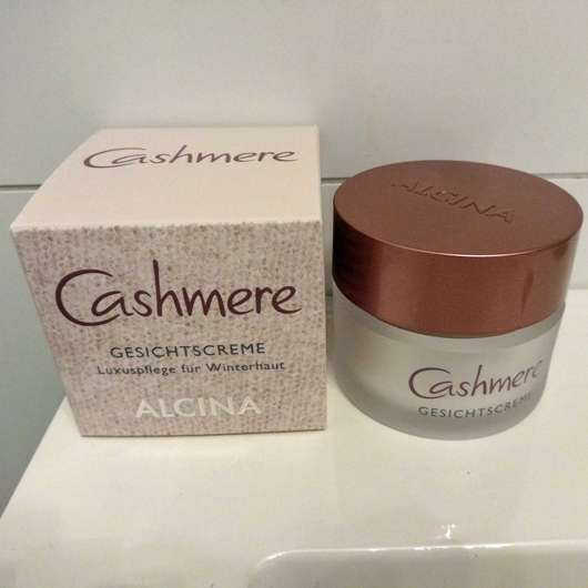 <strong>Alcina</strong> Cashmere Gesichtscreme