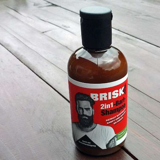 BRISK 2in1 Bart-Shampoo